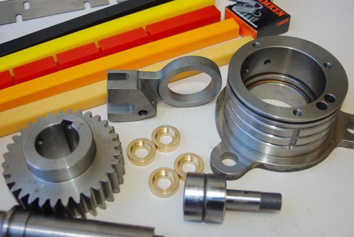 Webco Limited also manufactures many parts which are exported around the world, we have redesigned some products to work better than the original item...